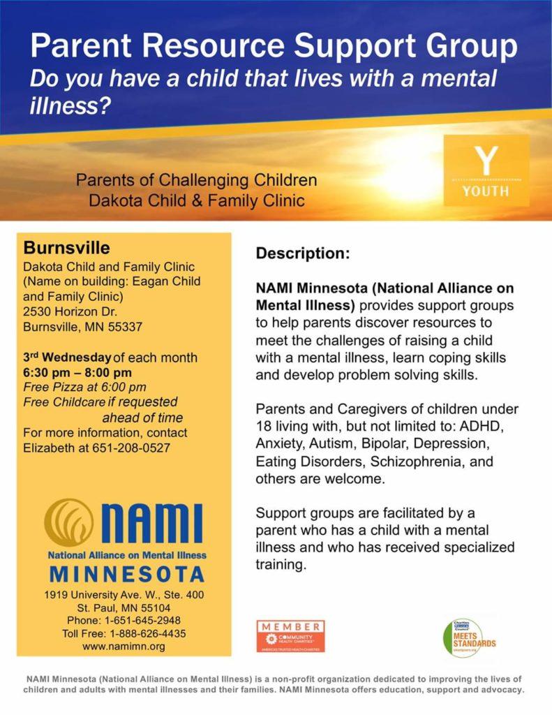 Parents of Challenging Children w/ NAMI