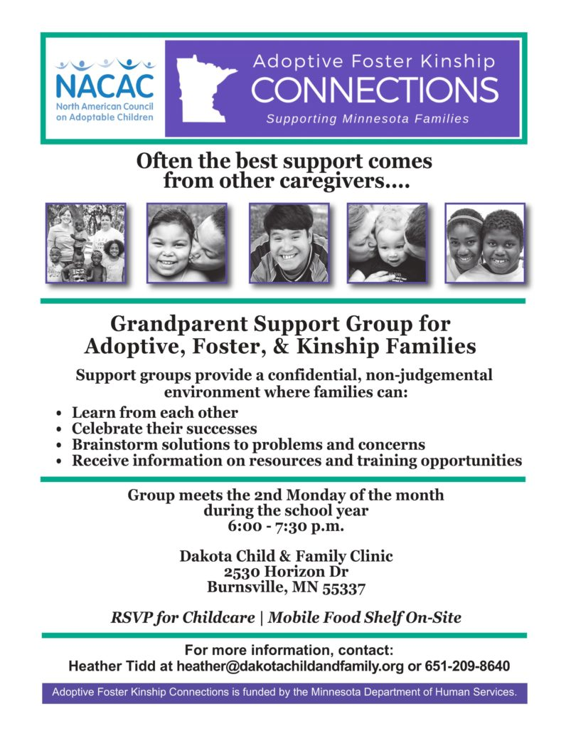 Grandparent Support Group for Adoptive, Foster, & Kinship Families